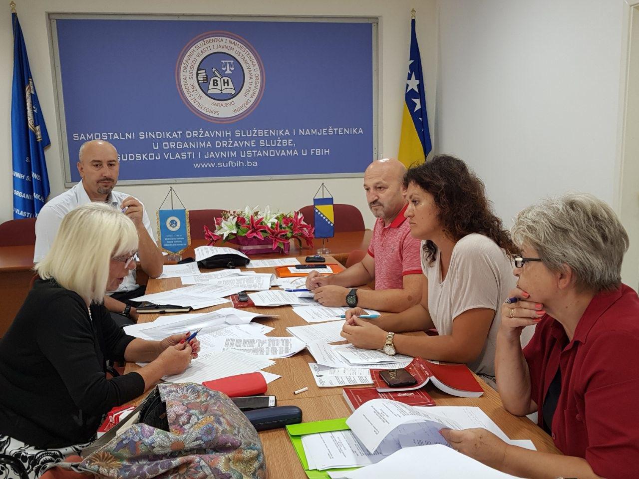 Održan radni sastanak Pregovaračkog tima