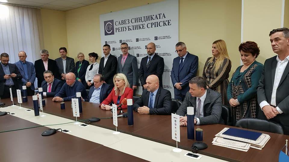 Potpisana Deklaracija U Banja Luci Sindikata Jugoistočne Evrope