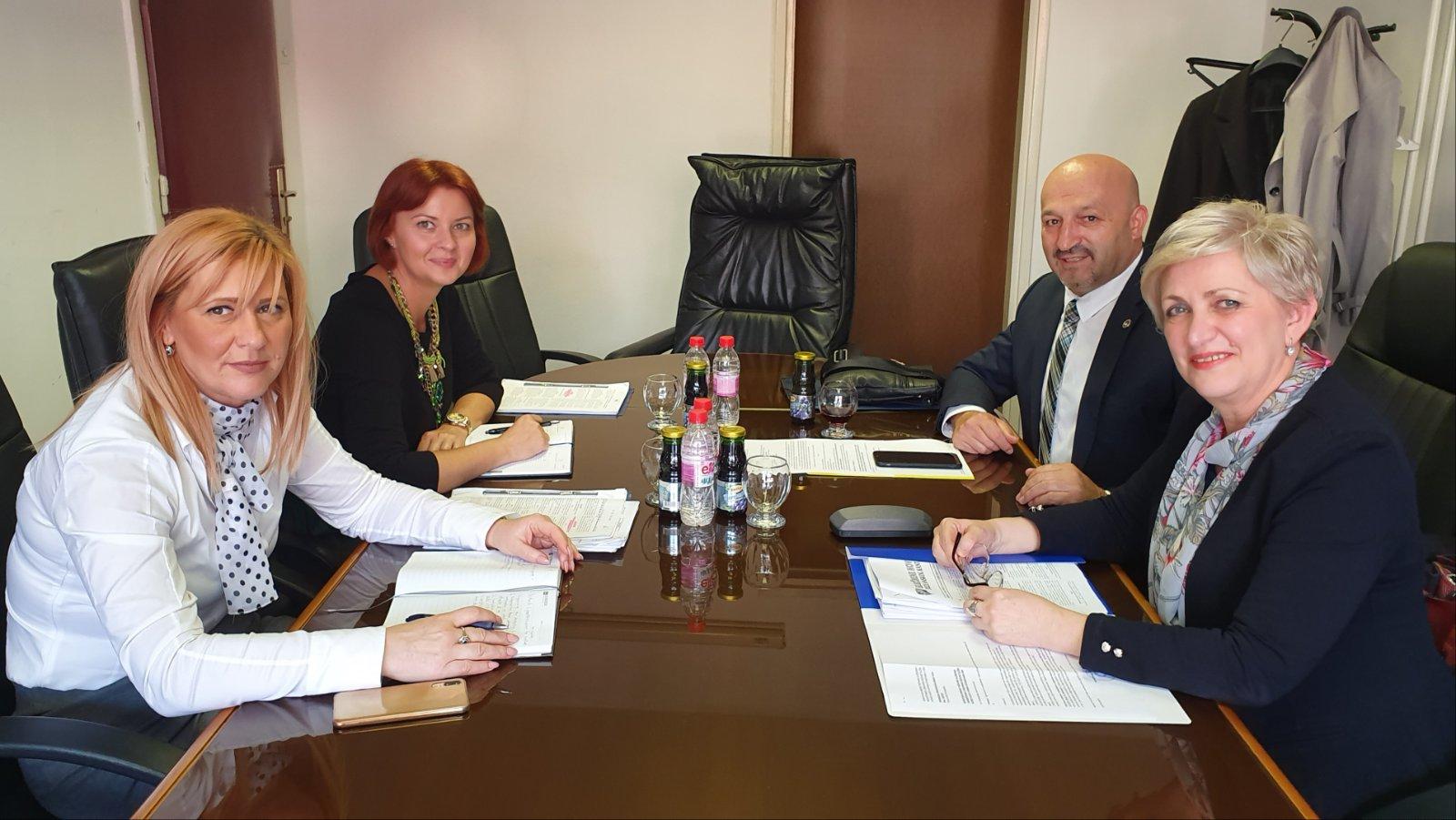 Održan Radni Sastanak U Ministarstvu Pravosuđa U Tuzli
