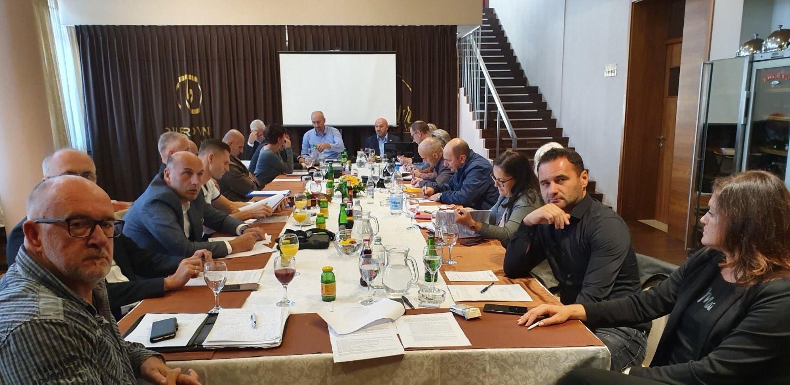 Održana Sjednica Upravnog Odbora Samostalnog Sindikata U Zenici