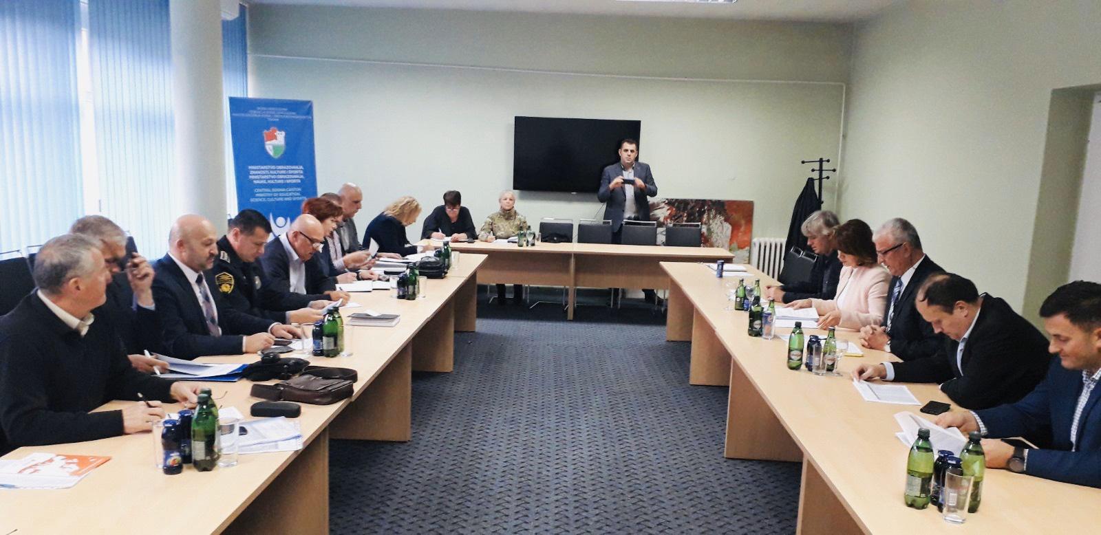 Održani Pregovori U Vladi Srednjobosanskog Kantona