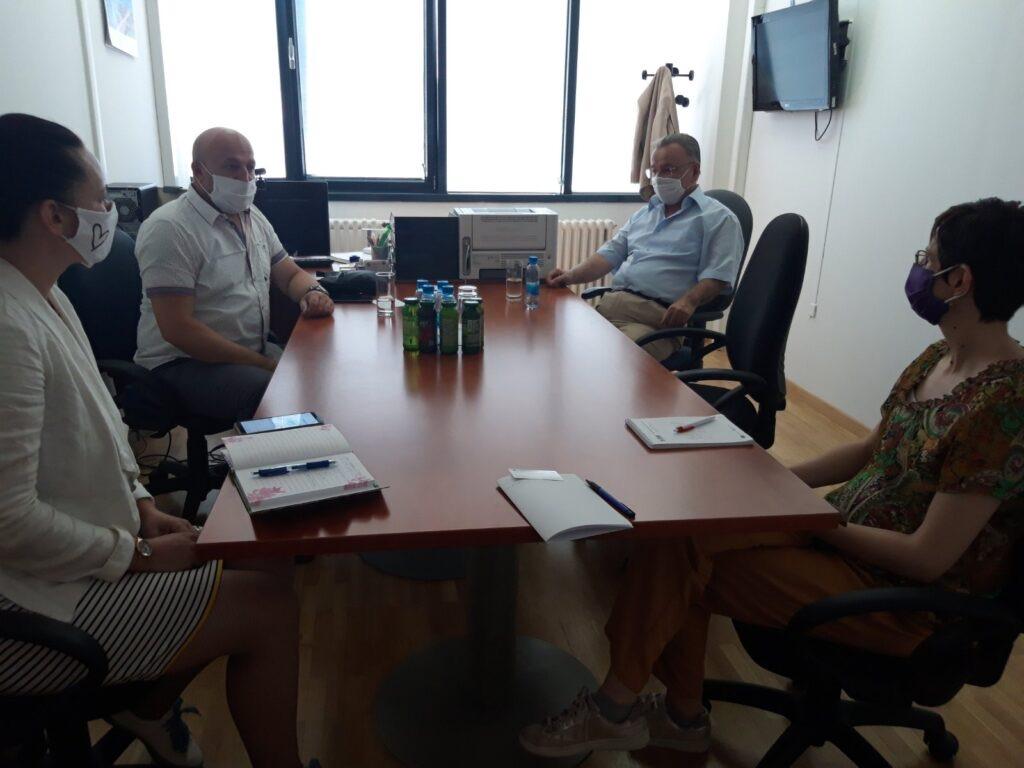 Sastanak Predsjednika Sindikata Državnih Službenika I Namještenika U FBiH Sa Zamjenikom Državnog Koordinatora Za Reformu Javne Uprave