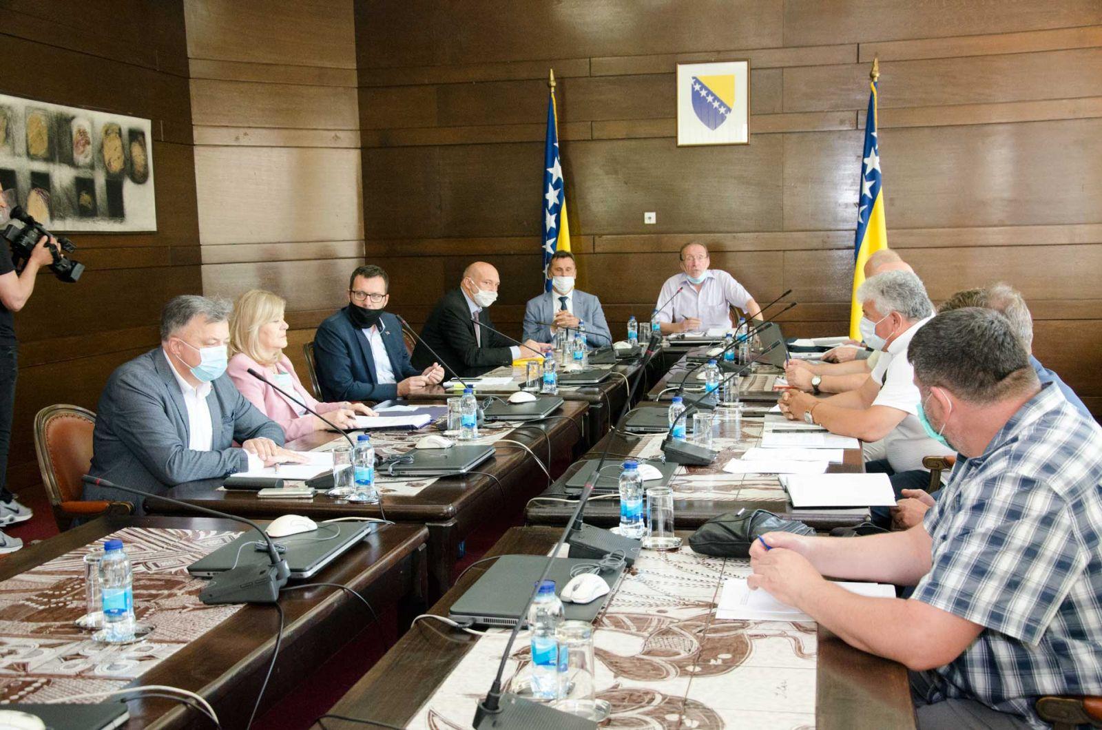 Održan Nastavak 4. (124.) Sjednice Ekonomsko-socijalnog Vijeća Za Teritoriju FBiH