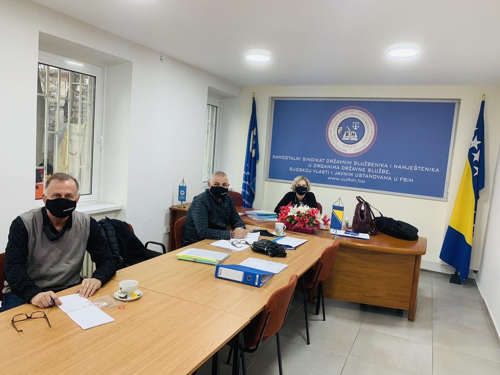 Održana Sjednica Komisije Za Dodjelu Finansijske Pomoći članovima Sindikata