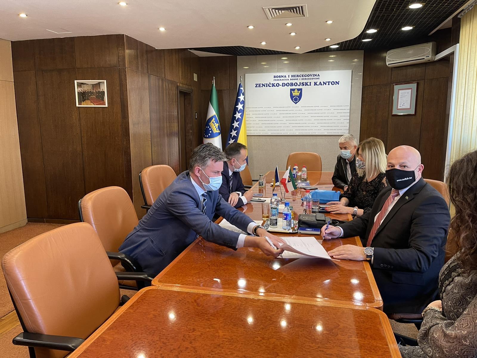 Potpisan Sporazum U Vladi ZDK