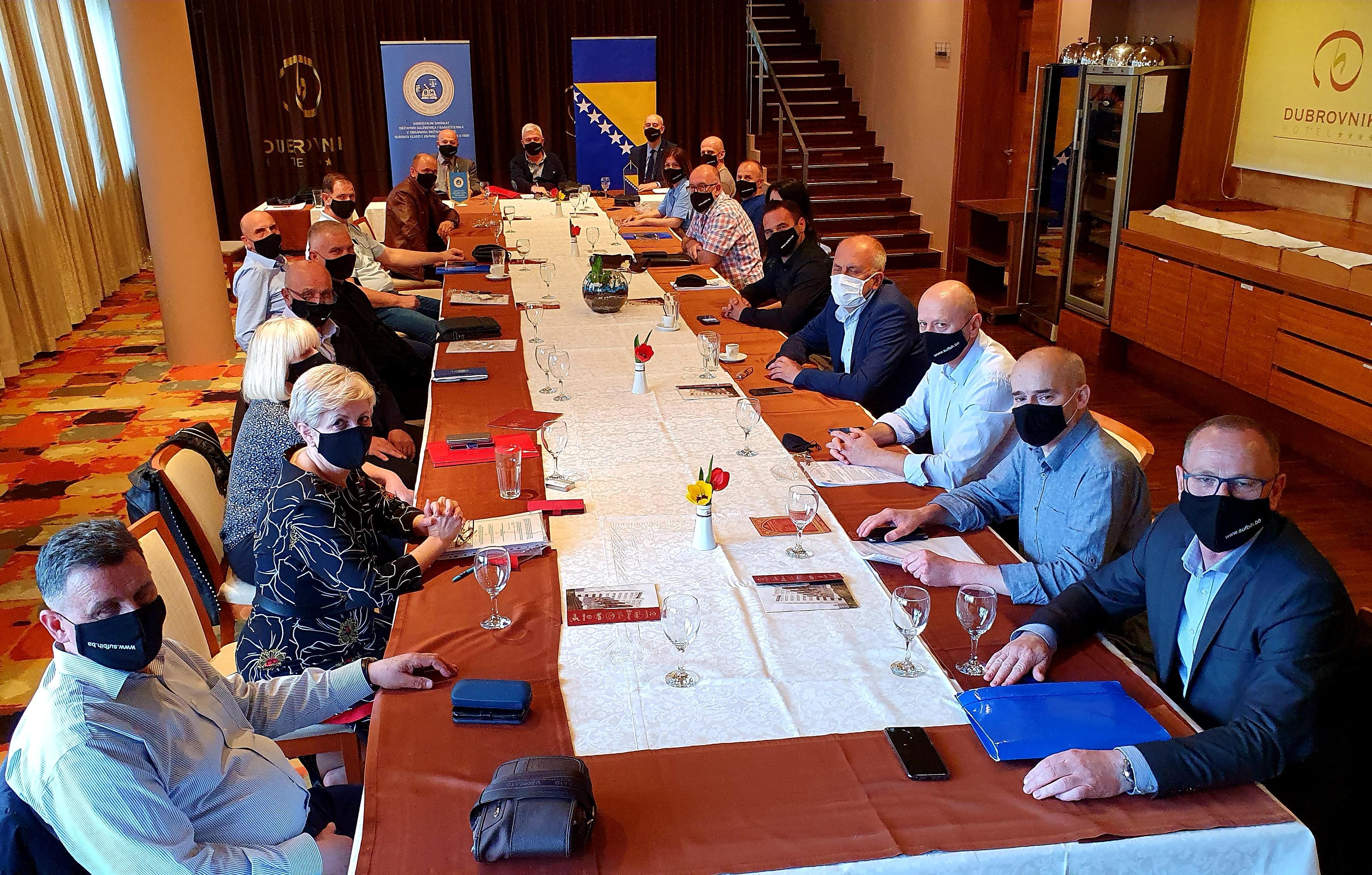 Održana Radno- Svečana Sjednica Upravnog Odbora U Zenici