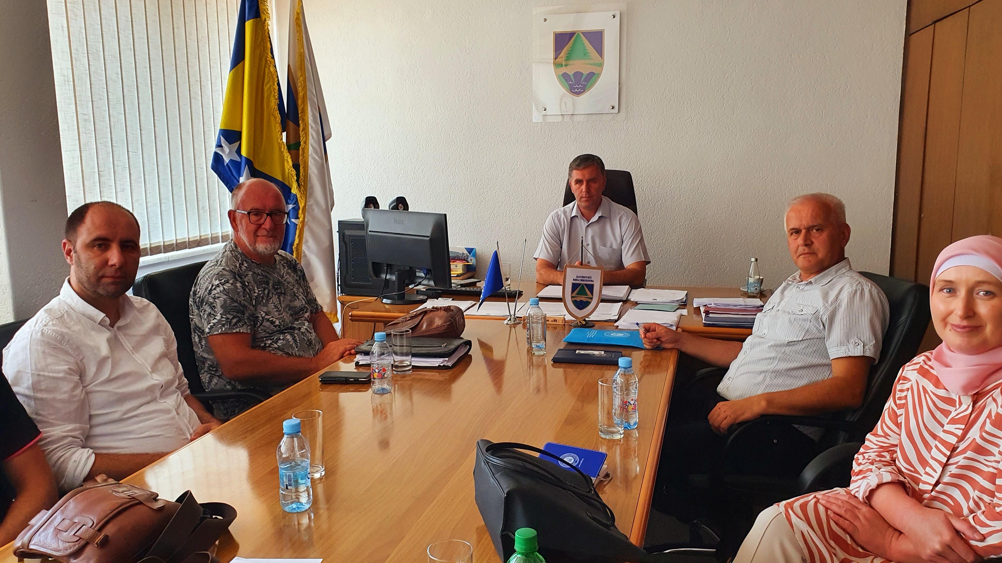 Održan Radni Sastanak Sa Načelnikom Općine Zavidovići