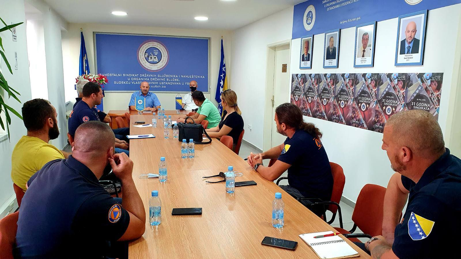 Održan Radni Sastanak Sa Predstavnicima članova Sindikalne Organizacije FUCZ